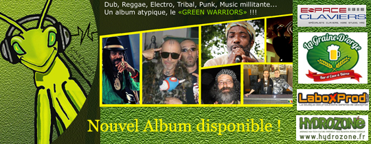 Album artiste Nagual X green warriors - Album inédit de l'artiste Nagual X intitulé green warriors