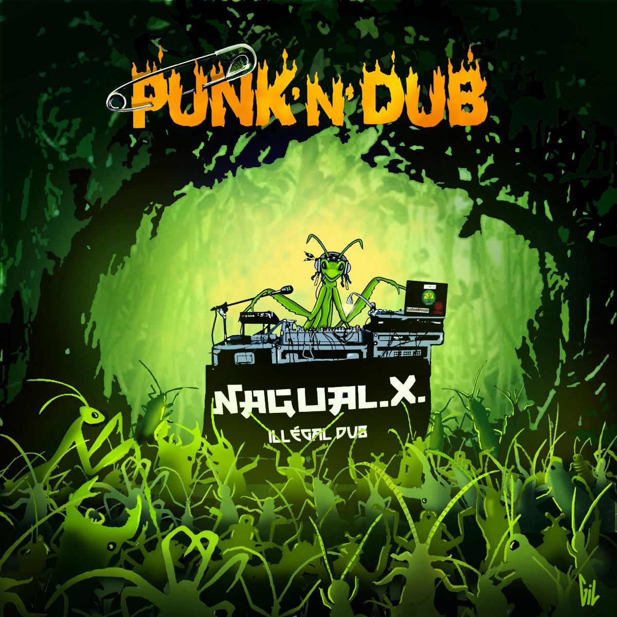 Vinyle Punk N Dub 33 T