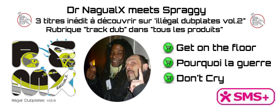 Nagualx meets Spraggy - Soutenez ces 2 artistes en direct !