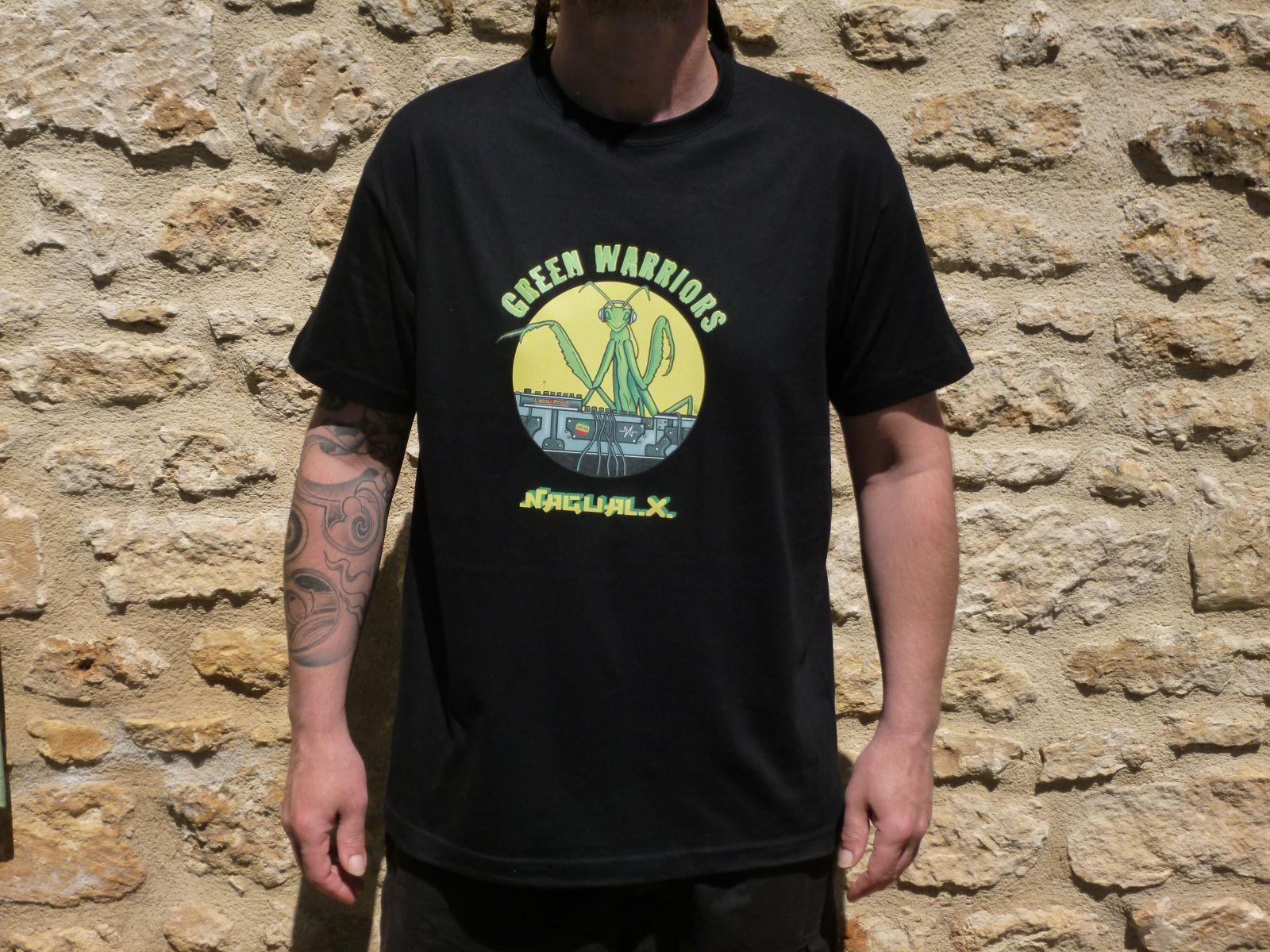 En savoir plus sur tee shirt Green Warriors Noir