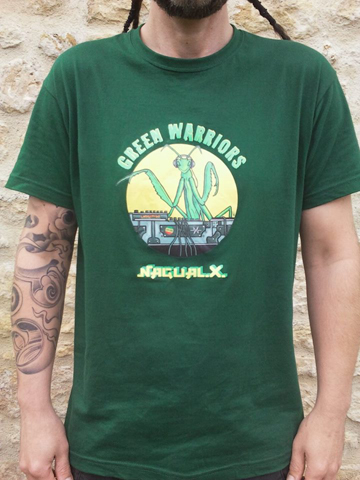 En savoir plus sur tee shirt Green Warriors