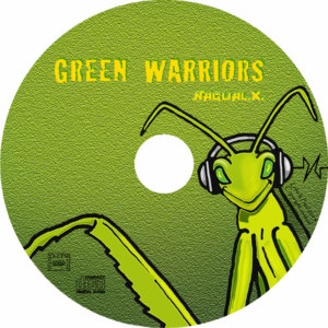 CD Nagual X Green Warriors disque