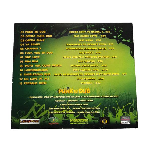 CD Nagual X Punk N Dub dos