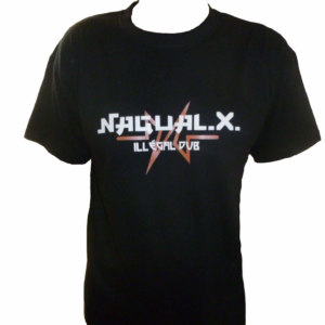 Tee shirt Nagual X noir collection 2019