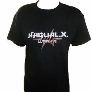 Tee shirt Nagual X noir collection 2019