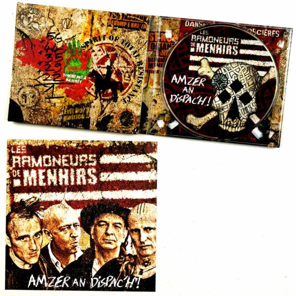 CD les Ramoneurs de Menhirs Amzer an Dispach