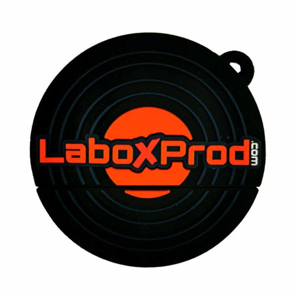 Clé usb Vinyle Laboxprod 2 pouces