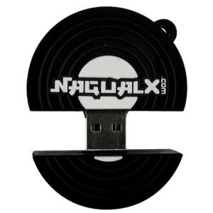 Clé usb Vinyle Laboxprod 2 pouces Nagualx open