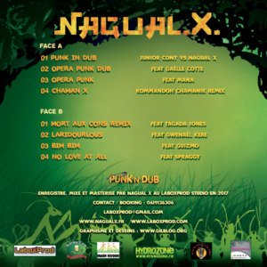 Vinyle Nagual X Punk N Dub dos