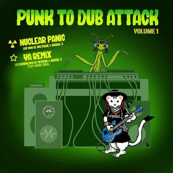 Vinyle Punk to Dub Attack Vol1 dos
