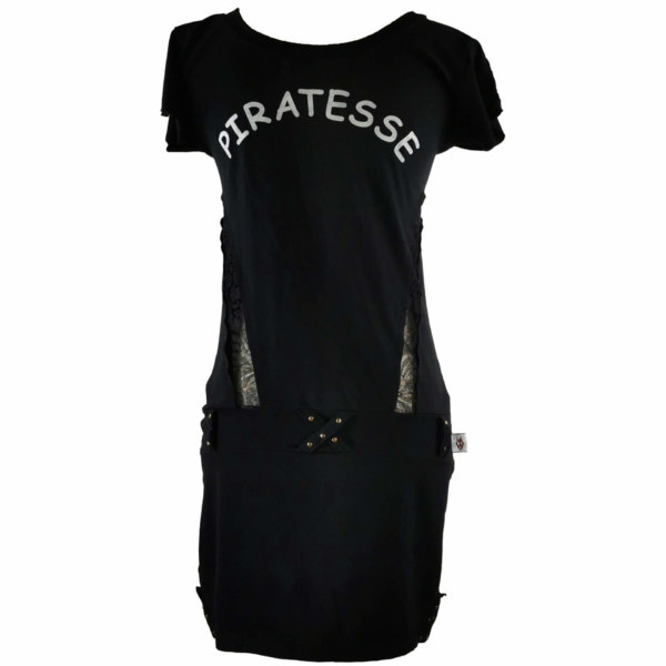 Robe Cosmos Tribe Piratesse noir