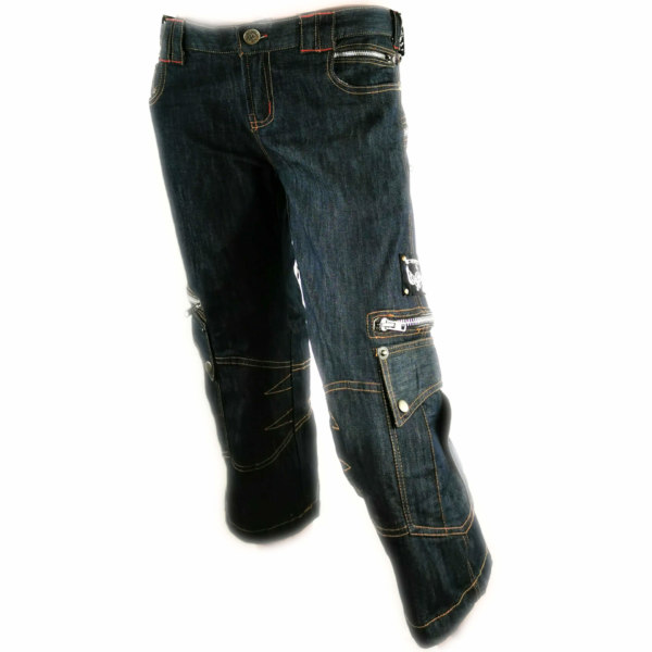 Pantacourt Cosmos Tribe Jean Zip on the back
