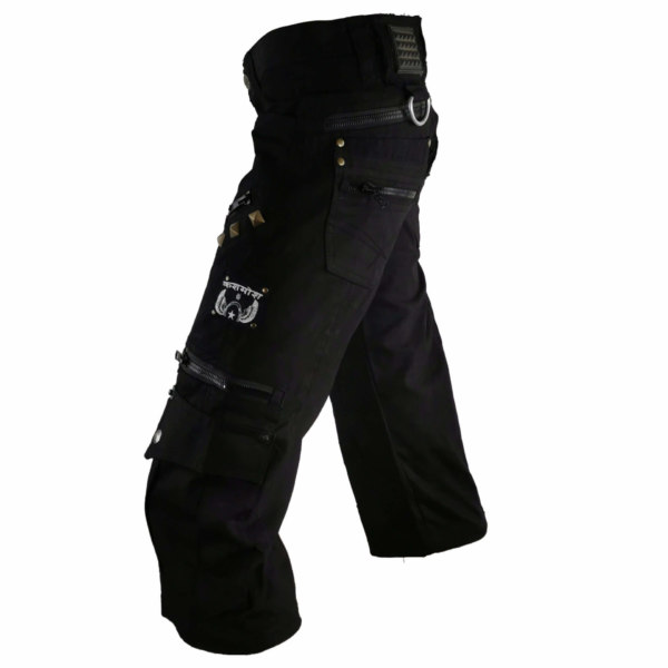 Pantacourt Zip on the back noir